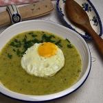 Zupa krem z liści...