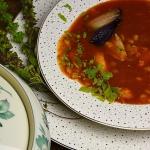 Zupa pomidorowa na pieczo...