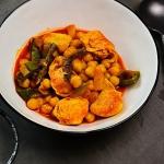 Żolte curry z kurczakiem...