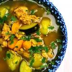 Zupa curry z indykiem i c...