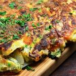 Tortilla z mlodych warzyw...