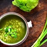 Zielony krem z sałaty...