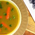 Kremowa zupa z brukselki