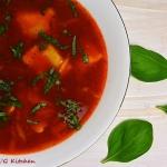 Zupa pomidorowa z ravioli...