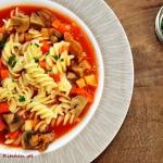 Zupa pomidorowa z pieczar...
