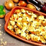Cebule zapiekane z serem...