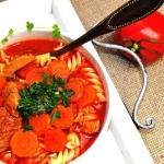 Zupa pomidorowa na wywarz...