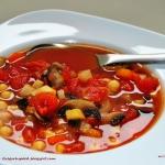 Zupa pomidorowa z ciecier...
