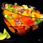 Sałatka owocowa z sosem...