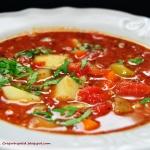 Zupa pomidorowa z kaszank...