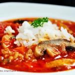 Zupa pomidorowa z mielony...
