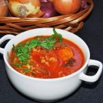 Zupa pomidorowa pozywna