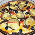 Makaronowa pizza z...