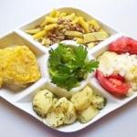 Letni obiad wegetarianski...