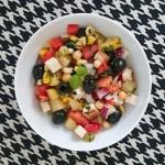 Weganska salatka warzywna...