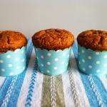 Muffiny z marchewką,...