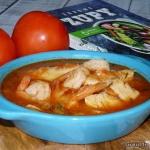 Śródziemnomorska zupa...