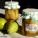 Gruszki w occie jablkowym...