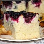 Mało słodkie ciasto...