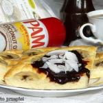 Kokosowo-bananowy omlet...