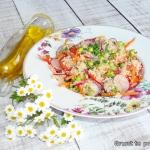 Salatka warzywna z kuskus...
