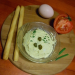 Pasta z jajek i kaparów