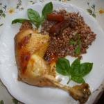 Kurczak z warzywami i kas...
