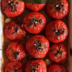 Pieczone pomidory  z musz...