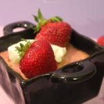 Creme Brulee truskawkowe