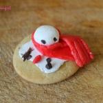 DIY ciasteczka bałwanki