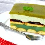 Ciasto Shrek bez pieczeni...