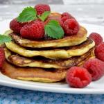 Pancakes z mascarpone+...