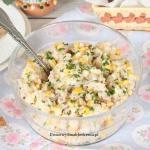 salatka z tunczykiem, ryz...