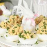 jajka faszerowane makrela...