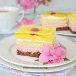 ciasto malinowo ananasowe...