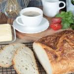 domowy chleb z gara...