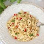 makaron aglio olio