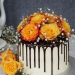 tort z żywymi...
