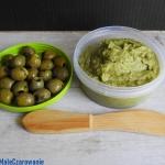 Pasta z awokado i oliwek