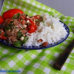 Salatka birmanska z pomid...