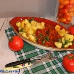 Chrupiace ziemniaki w pik...
