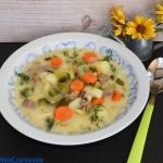 Zupa ogorkowa z cynadrami...