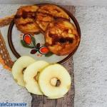 Jablka w ciescie