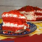 Tort Red Velvet na jogurc...