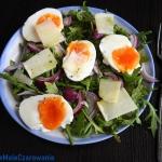 Wiosenna salatka z rukola...