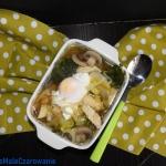 Zupa z kurczakiem i jajki...