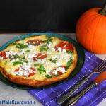 Omlet z dynia i pomidoram...