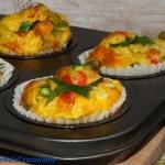 Jajeczne muffiny z...
