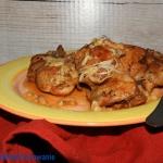 Kurczak duszony w brandy