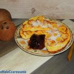 Kokosowy omlet z plantane...